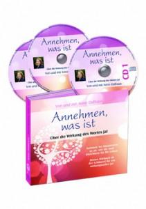 Abbildung Hörbuch - Annehmen, was ist - Über die Wirkung des Wortes JA!